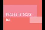 Traitement rose Carte Postale - gabarit prédéfini. <br/>Utilisez notre logiciel Avery Design & Print Online pour personnaliser facilement la conception.