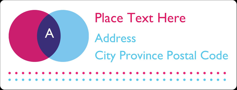 "1"" x 2⅝"" Address Label - Graphic Designer"