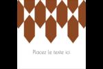 Hexagone orange Étiquettes enveloppantes - gabarit prédéfini. <br/>Utilisez notre logiciel Avery Design & Print Online pour personnaliser facilement la conception.