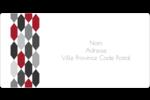 Hexagone rouge Étiquettes de classement écologiques - gabarit prédéfini. <br/>Utilisez notre logiciel Avery Design & Print Online pour personnaliser facilement la conception.