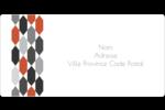 Hexagone orange Étiquettes de classement écologiques - gabarit prédéfini. <br/>Utilisez notre logiciel Avery Design & Print Online pour personnaliser facilement la conception.