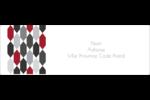 Hexagone rouge Intercalaires / Onglets - gabarit prédéfini. <br/>Utilisez notre logiciel Avery Design & Print Online pour personnaliser facilement la conception.