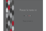 Hexagone rouge Carte Postale - gabarit prédéfini. <br/>Utilisez notre logiciel Avery Design & Print Online pour personnaliser facilement la conception.