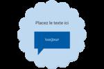 Bonjour Étiquettes rondes - gabarit prédéfini. <br/>Utilisez notre logiciel Avery Design & Print Online pour personnaliser facilement la conception.