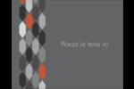 Hexagone orange Étiquettes rondes gaufrées - gabarit prédéfini. <br/>Utilisez notre logiciel Avery Design & Print Online pour personnaliser facilement la conception.