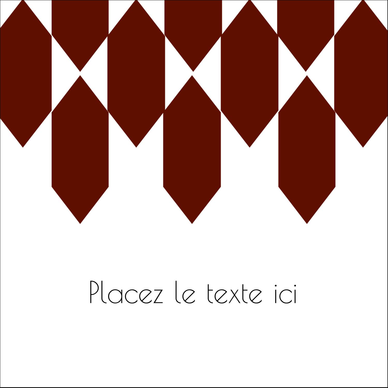 """9¾"""" x 1¼"""" Étiquettes enveloppantes - Hexagone rouge"""