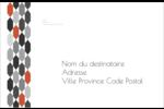 Hexagone orange Étiquettes d'adresse - gabarit prédéfini. <br/>Utilisez notre logiciel Avery Design & Print Online pour personnaliser facilement la conception.