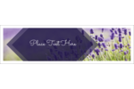 Easily create projects with customizable pre-designed Lavender Field templates.