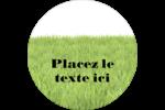 Aménagement paysager  Étiquettes arrondies - gabarit prédéfini. <br/>Utilisez notre logiciel Avery Design & Print Online pour personnaliser facilement la conception.