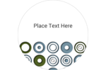 Customize personal and business projects with pre-designed Professional Circles templates.