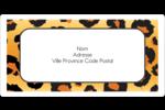Imprimé léopard Étiquettes de classement écologiques - gabarit prédéfini. <br/>Utilisez notre logiciel Avery Design & Print Online pour personnaliser facilement la conception.