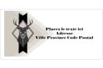 Chevreuils pour typographie Étiquettes de classement écologiques - gabarit prédéfini. <br/>Utilisez notre logiciel Avery Design & Print Online pour personnaliser facilement la conception.