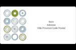 Cercles professionnels Étiquettes de classement écologiques - gabarit prédéfini. <br/>Utilisez notre logiciel Avery Design & Print Online pour personnaliser facilement la conception.