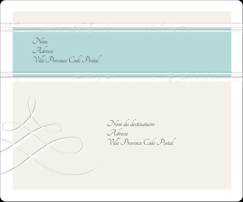 """½"""" x 1¾"""" Étiquettes D'Adresse - Typographie élégante"""
