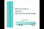 Voiture rétro Étiquettes D'Adresse - gabarit prédéfini. <br/>Utilisez notre logiciel Avery Design & Print Online pour personnaliser facilement la conception.