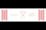Triangles modernes pour typographie Affichette - gabarit prédéfini. <br/>Utilisez notre logiciel Avery Design & Print Online pour personnaliser facilement la conception.