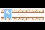 Baume à lèvres campagne Affichette - gabarit prédéfini. <br/>Utilisez notre logiciel Avery Design & Print Online pour personnaliser facilement la conception.