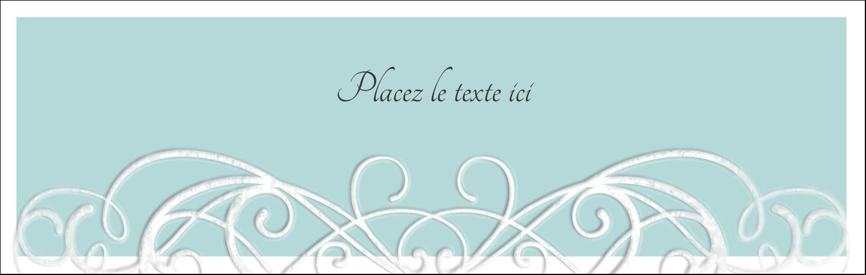 """4¼"""" x 5½"""" Cartes de notes - Typographie élégante"""