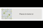 Cercles professionnels Carte de note - gabarit prédéfini. <br/>Utilisez notre logiciel Avery Design & Print Online pour personnaliser facilement la conception.