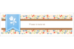 Baume à lèvres campagne Carte de note - gabarit prédéfini. <br/>Utilisez notre logiciel Avery Design & Print Online pour personnaliser facilement la conception.