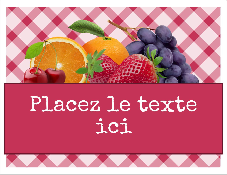 """8½"""" x 11"""" Cartes Et Articles D'Artisanat Imprimables - Confiture"""
