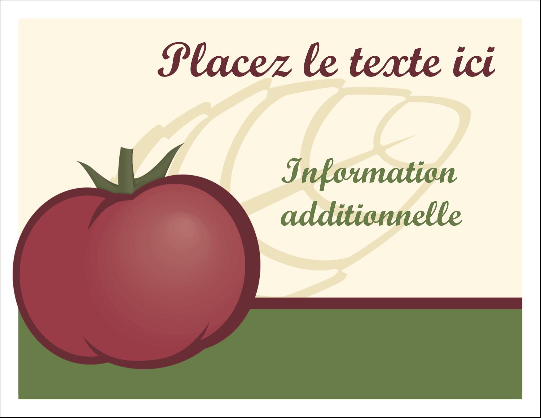 Tomate italienne Cartes Et Articles D'Artisanat Imprimables - gabarit prédéfini. <br/>Utilisez notre logiciel Avery Design & Print Online pour personnaliser facilement la conception.