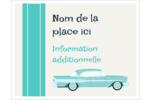 Voiture rétro Cartes Et Articles D'Artisanat Imprimables - gabarit prédéfini. <br/>Utilisez notre logiciel Avery Design & Print Online pour personnaliser facilement la conception.