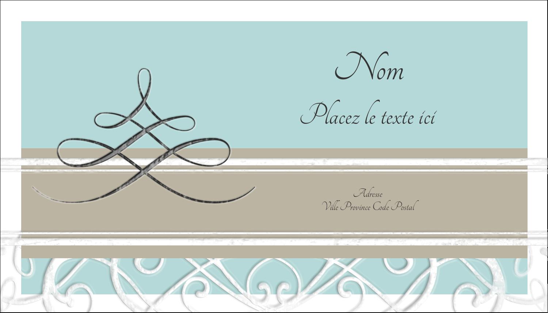 """2"""" x 3½"""" Carte d'affaire - Typographie élégante"""