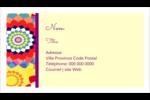 Baume à lèvres kaléidoscope Carte d'affaire - gabarit prédéfini. <br/>Utilisez notre logiciel Avery Design & Print Online pour personnaliser facilement la conception.