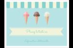 Chariot à crème glacée Badges - gabarit prédéfini. <br/>Utilisez notre logiciel Avery Design & Print Online pour personnaliser facilement la conception.