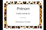 Imprimé léopard Badges - gabarit prédéfini. <br/>Utilisez notre logiciel Avery Design & Print Online pour personnaliser facilement la conception.