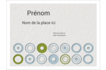 Cercles professionnels Badges - gabarit prédéfini. <br/>Utilisez notre logiciel Avery Design & Print Online pour personnaliser facilement la conception.