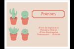 Plantes en pot fantaisistes Badges - gabarit prédéfini. <br/>Utilisez notre logiciel Avery Design & Print Online pour personnaliser facilement la conception.