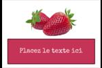 Confiture Étiquettes à codage couleur - gabarit prédéfini. <br/>Utilisez notre logiciel Avery Design & Print Online pour personnaliser facilement la conception.