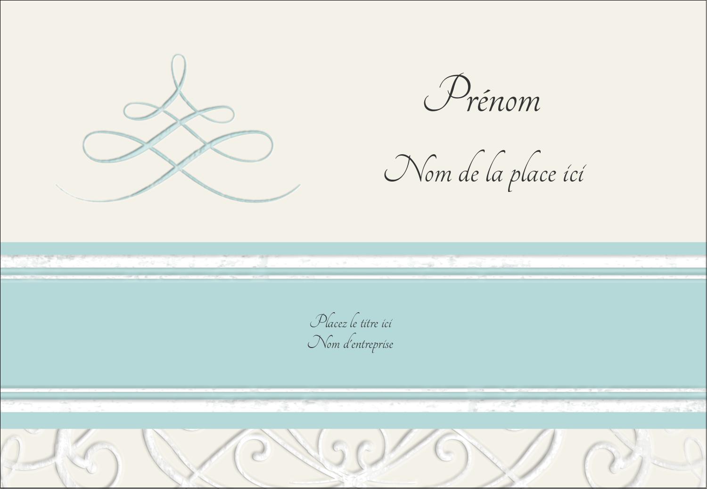 """1¼"""" Étiquettes à codage couleur - Typographie élégante"""