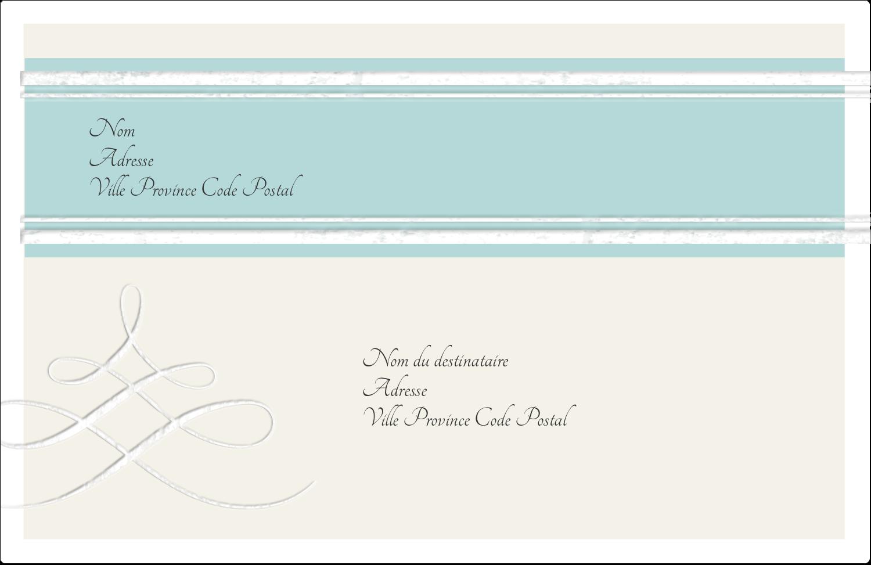 """1½"""" x 4"""" Étiquettes d'adresse - Typographie élégante"""