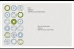 Cercles professionnels Étiquettes d'adresse - gabarit prédéfini. <br/>Utilisez notre logiciel Avery Design & Print Online pour personnaliser facilement la conception.