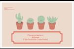 Plantes en pot fantaisistes Étiquettes d'adresse - gabarit prédéfini. <br/>Utilisez notre logiciel Avery Design & Print Online pour personnaliser facilement la conception.