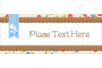 Add extra charm to projects with customizable pre-designed Country Lip Balm templates.