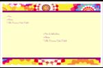 Baume à lèvres kaléidoscope Étiquettes d'adresse - gabarit prédéfini. <br/>Utilisez notre logiciel Avery Design & Print Online pour personnaliser facilement la conception.
