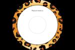 Imprimé léopard Étiquettes de classement - gabarit prédéfini. <br/>Utilisez notre logiciel Avery Design & Print Online pour personnaliser facilement la conception.