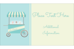 Add delicious summertime fun to your project with pre-designed Ice Cream Cart templates.