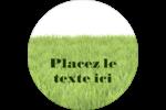 Aménagement paysager  Étiquettes Voyantes - gabarit prédéfini. <br/>Utilisez notre logiciel Avery Design & Print Online pour personnaliser facilement la conception.