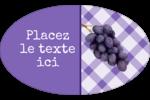 Confiture Étiquettes carrées - gabarit prédéfini. <br/>Utilisez notre logiciel Avery Design & Print Online pour personnaliser facilement la conception.