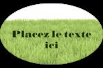 Aménagement paysager  Étiquettes carrées - gabarit prédéfini. <br/>Utilisez notre logiciel Avery Design & Print Online pour personnaliser facilement la conception.