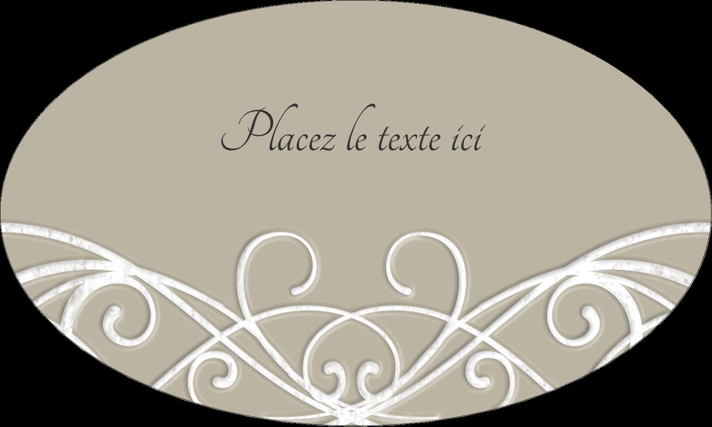 """1½"""" x 1½"""" Étiquettes carrées - Typographie élégante"""