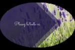 Champ de lavande Étiquettes carrées - gabarit prédéfini. <br/>Utilisez notre logiciel Avery Design & Print Online pour personnaliser facilement la conception.