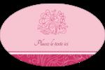 Baume à lèvres Étiquettes carrées - gabarit prédéfini. <br/>Utilisez notre logiciel Avery Design & Print Online pour personnaliser facilement la conception.