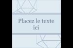 Sphères modernes pour typographie Étiquettes carrées - gabarit prédéfini. <br/>Utilisez notre logiciel Avery Design & Print Online pour personnaliser facilement la conception.
