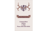 Add rural charm to projects with customizable pre-designed Rustic Antlers templates.